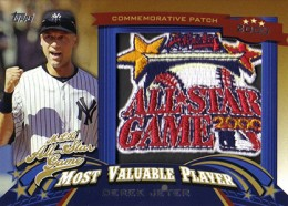 2013 Topps Update Series Baseball All Star Game MVP Patches ASMVP 14 Derek Jeter 260x186 Image