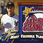 2013 Topps Update Series Retail All-Star MVP and Rookie Card Patches