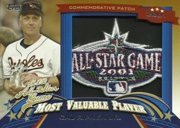 2013 Topps Update Series Baseball All Star Game MVP Patches ASMVP 15 Cal Ripken Jr 260x185 Image