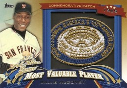 2013 Topps Update Series Baseball All Star Game MVP Patches ASMVP 5 Willie McCovey 260x182 Image