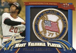 2013 Topps Update Series Baseball All Star Game MVP Patches ASMVP 6 Frank Robinson 260x182 Image