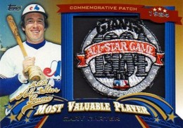 2013 Topps Update Series Baseball All Star Game MVP Patches ASMVP 9 Gary Carter 260x183 Image