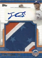 2013 Topps Update Series Baseball All Star Jumbo Patches Autographs Image