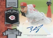 2013 Topps Update Series Baseball Chasing History Autographs Image