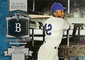 2013 Topps Update Series Baseball Chasing History Jackie Robinson Image