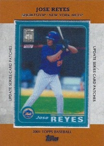 2013 Topps Update Series Rookie Card Patches TRCP 13 Jose Reyes 215x300 Image