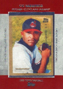 2013 Topps Update Series Rookie Card Patches TRCP 3 CC Sabathia 213x300 Image