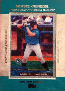 2013 Topps Update Series Rookie Card Patches TRCP 5 Miguel Cabrera 214x300 Image