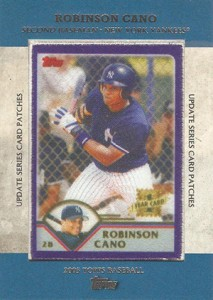 2013 Topps Update Series Rookie Card Patches TRCP 7 Robinson Cano 213x300 Image