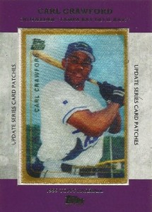 2013 Topps Update Series Rookie Card Patches TRCP 9 Carl Crawford 215x300 Image