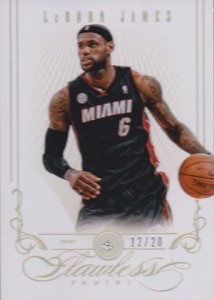 14 2012 13 Panini Flawless LeBron James 214x300 Image