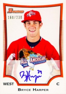 2009 AFLAC All American Autograph Bryce Harper 210x300 Image