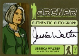 2013 Cryptozoic Archer Seasons 1-4 Autographs A1
