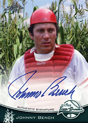 2013 Leaf Sports Heroes Team of Dreams Autographs Johnny Bench Image