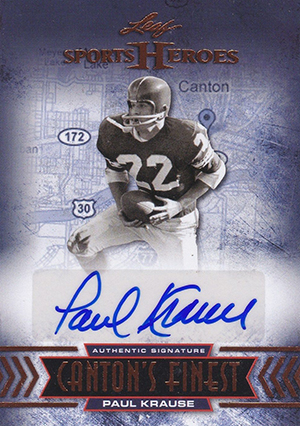 2013 Leaf Sports Heroes Cantons Finest Image