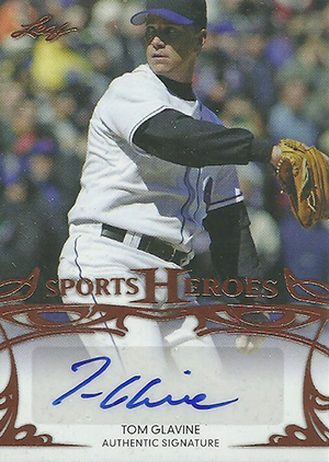 2013 Leaf Sports Heroes Tom Glavine Image