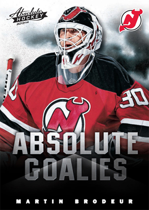 2013 Panini Boxing Day Absolute Goalies Martin Brodeur Image