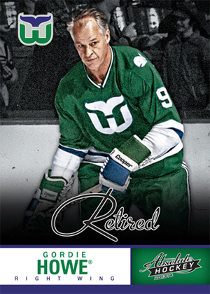 2013 Panini Boxing Day Retired Gordie Howe Image