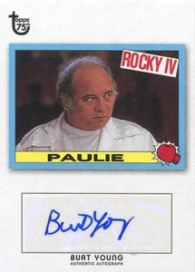 2013 Topps 75th Anniversary Autographs Burt Young 215x300 Image