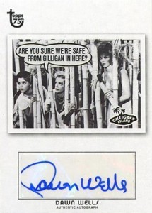 2013 Topps 75th Anniversary Autographs Dawn Wells 215x300 Image