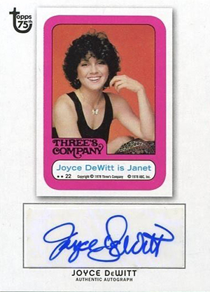 2013 Topps 75th Anniversary Autograph