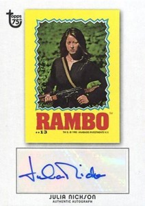 2013 Topps 75th Anniversary Autographs Julia Nickson 212x300 Image