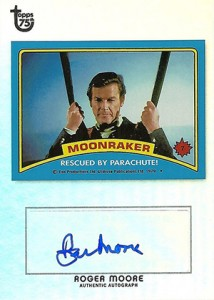 2013 Topps 75th Anniversary Autographs Roger Moore 214x300 Image