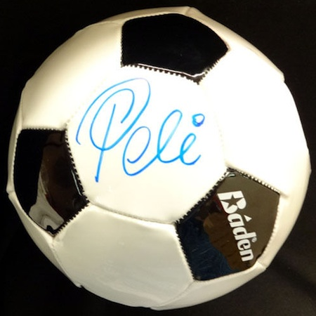 Pelé Signed Ball Image