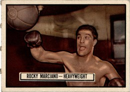 1951 Topps Ringside Boxing Rocky Marciano