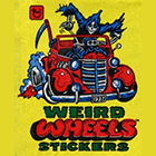1980 Topps Weird Wheels Trading Cards