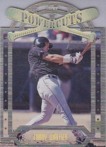 1996 Topps Laser Larry Walker Power Cuts