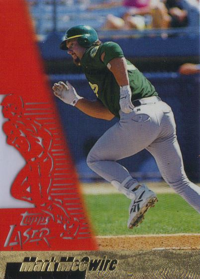 1996 Topps Laser Mark McGwire