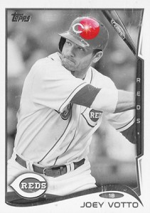 2014 Topps Series 1 Sparkle Variation Joey Votto HL 211x300 Image