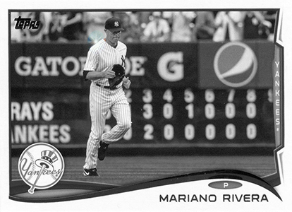 2014 Topps Series 1 Sparkle Variation Mariano Rivera HL Image