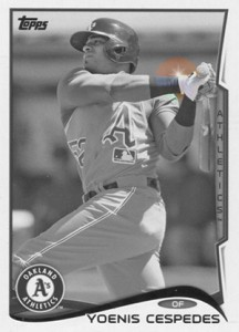 2014 Topps Series 1 Sparkle Variation Yoenis Cespedes2 216x300 Image