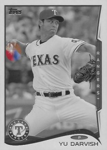 2014 Topps Series 1 Sparkle Variation Yu Darvish HL 214x300 Image
