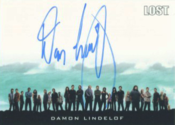 Lost Relics Autographs Damon Lindelof Executive Producer and Co Creator1 Image