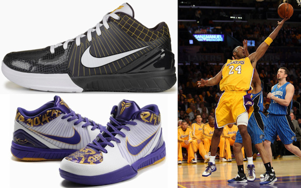 all of kobe shoes