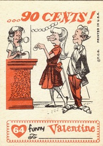 1959 Topps Funny Valentines 64 Back 212x300 Image