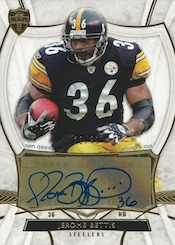 2013 Topps Supreme Football Autographed Stars Jerome Bettis Image