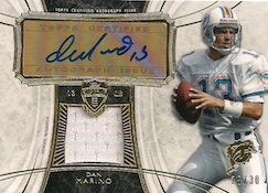 2013 Topps Supreme Football Autogrpahed Relics Dan Marino Image