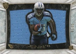 2013 Topps Supreme Football Rookie Die Cut Relics Image