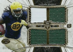 2013 Topps Supreme Football Rookie Quad Relics Image