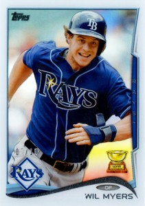 2014 Topps Series 1 Clear Wil Myers 211x300 Image