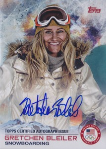 2014 Topps US Olympic Team Autographs 7 Gretchen Bleiler 214x300 Image
