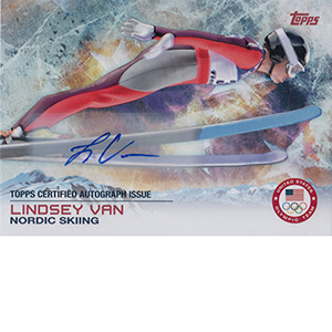 2014 Topps US Olympic Team Autographs 86 Lindsey Van 300x300 Image