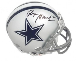 Roger Staubach Signed Helmet 260x211 Image