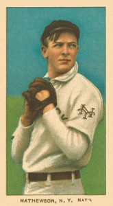 1909 T206 White Borders Christy Mathewson 307 165x300 Image