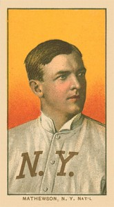 1909 T206 White Borders Christy Mathewson 308 165x300 Image