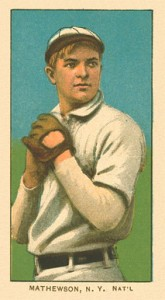 1909 T206 White Borders Christy Mathewson 309 165x300 Image